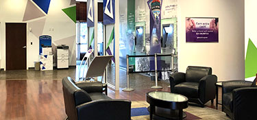 lobby of midtown st pete GTE Financial location