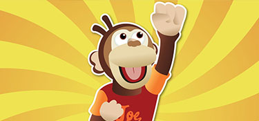 Joe the Monkey from Money Mammals